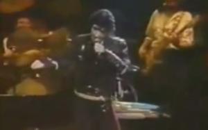 celine Delon does Michael Jackson