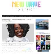 Alisha Brown - New Wave District