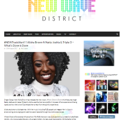 Alisha Brown - New Wave District