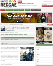London City Anthem - reggae Utd (article)