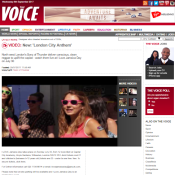 London City Anthem - The Voice Newspaper (Online)