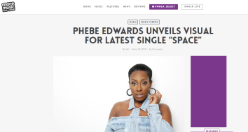 Phebe - More Music Less Noise