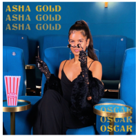 Asha Gold Shares Single Oscar, Calling Out Liars And Cheaters